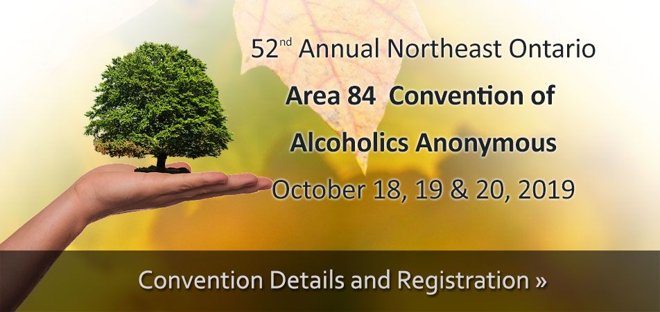 2019 Area 84 Convention of Alcoholics