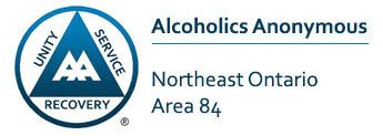 Alcoholics Anonymous Northeast Ontario Area 84